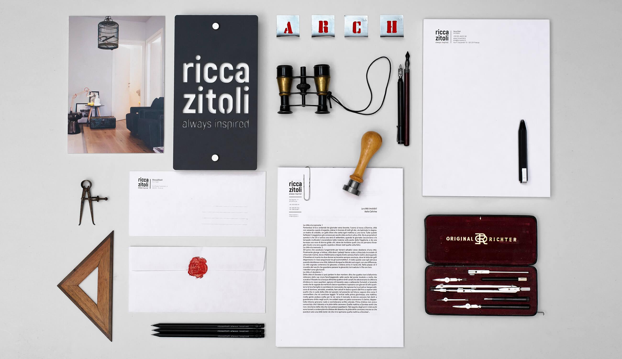 ricca zitoli - always inspired